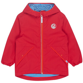 Finkid Puuskiainen Jacket Kinder red/grenadine